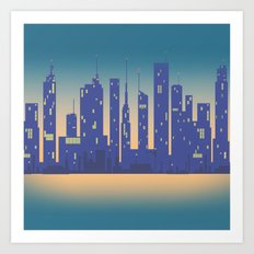 Night City Art Print