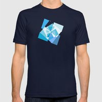 Geometry 2 Mens Fitted Tee Navy SMALL