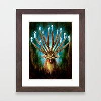 Princess Mononoke The De… Framed Art Print