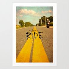 Moto Poster Art Print