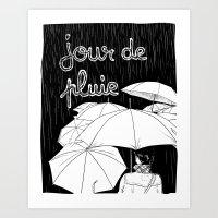 Jour De Pluie (rainy Day… Art Print