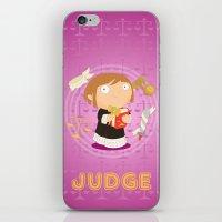 Judge iPhone & iPod Skin