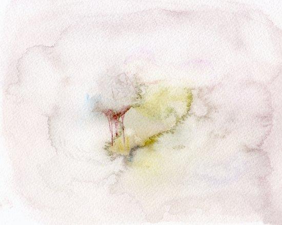 Foggy town  Art Print