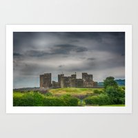Caerphilly Castle South East View 3 Art Print