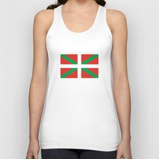basque people ethnic flag spain Unisex Tank Top