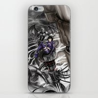 BounD Issue #2 Cover (small logo) iPhone & iPod Skin