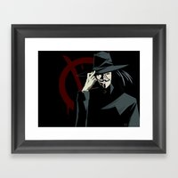 V for Vendetta (e1) Framed Art Print