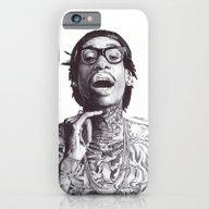 Wiz Khalifa Pen Drawing  iPhone 6 Slim Case