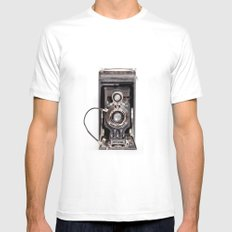 67-6 VINTAGE CAMERA COLLECTION  White Mens Fitted Tee SMALL