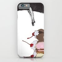 iPhone & iPod Case featuring The Fruit that ate itself  by mcmerriweather
