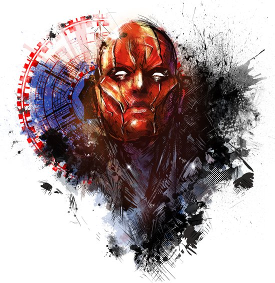 Red Hood Canvas Print