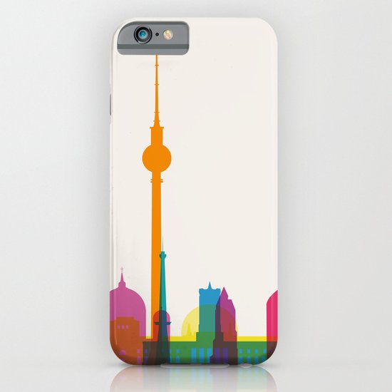 Shapes of Berlin accurate to scale iPhone & iPod Case