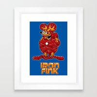 Iron Fink Framed Art Print