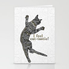 I Feel Cat-tastic! Stationery Cards