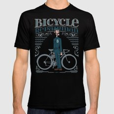 Bicycle Repairman Mens Fitted Tee Black SMALL