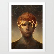 -Sun- Art Print