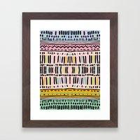 NAVAJO MOTIF  Framed Art Print