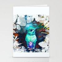 Posh Bird Stationery Cards