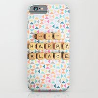 iPhone & iPod Case featuring This is My Happy Place by happeemonkee