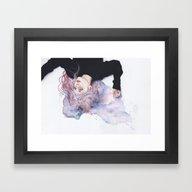 Miss Violence Framed Art Print