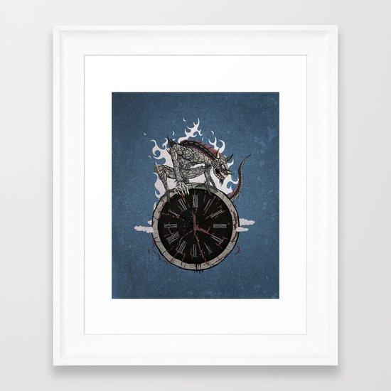 Guardian of Time Framed Art Print