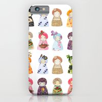iPhone & iPod Case featuring PaperDolls by munieca