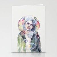 goodmorning world Stationery Cards