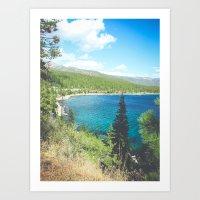 Lake Tahoe 1 Art Print