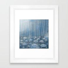 Another Rainy Day Framed Art Print