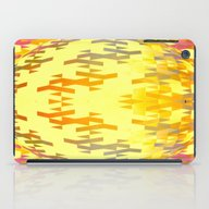 iPad Case featuring Geospherical (yellow) by NatalieCatLee
