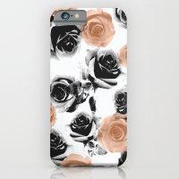 pixel rose iPhone 6 Slim Case