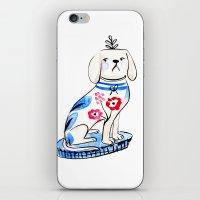Fancy Little Dog  iPhone & iPod Skin