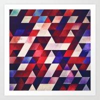 ryd whyte blww Art Print