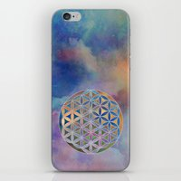 The Flower of Life in the Sky iPhone & iPod Skin
