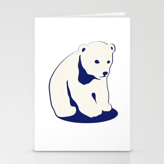 Polar bear Stationery Card