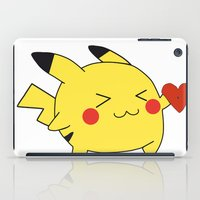 Pikachu In Love  iPad Case