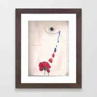 I'll Turn Your Tears Into Roses Framed Art Print