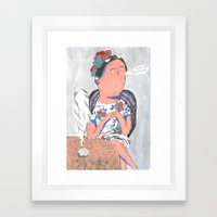 Sometimes Tequila Is The… Framed Art Print