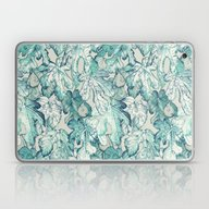 Fig Leaf Fancy - A Patte… Laptop & iPad Skin