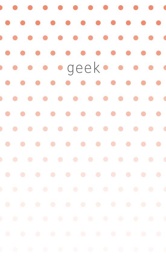 I'm a geek and I love polka dots Canvas Print