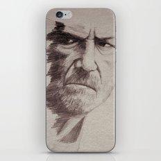HALF FACE II iPhone & iPod Skin