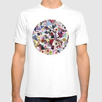GLAMAROUS Mens Fitted Tee White SMALL