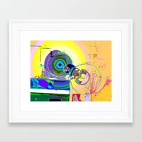 Modification N° 8 Framed Art Print
