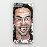 iPhone & iPod Case featuring RONALDINHO by BANDY
