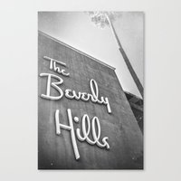 The Beverly Hills Hotel Canvas Print