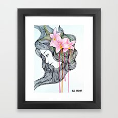 Unconscious conversation with...  Framed Art Print