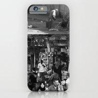 iPhone & iPod Case featuring Street collage by mindaugas gelunas studio