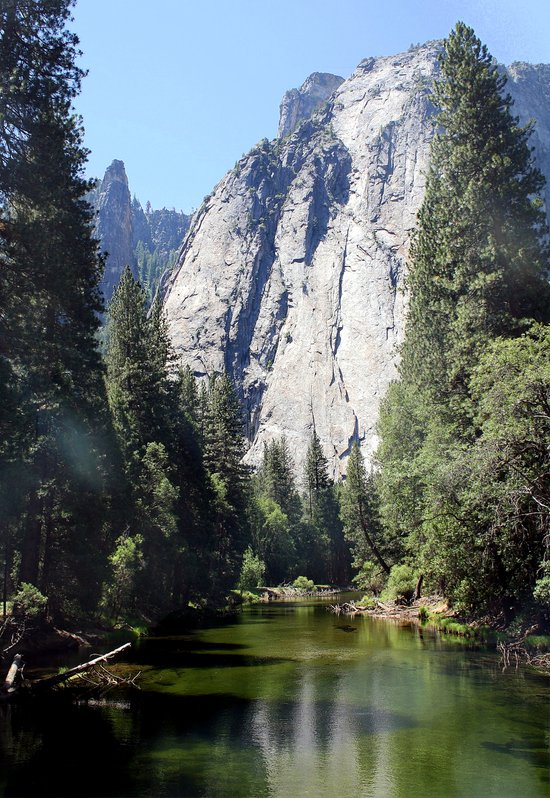Yosemite Reflection Canvas Print