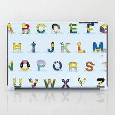 Simphabet iPad Case