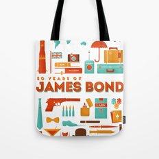 James Bond 50 Years  Tote Bag